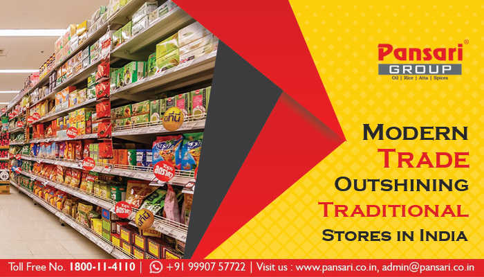 Modern Trade Outshining Traditional Stores in India